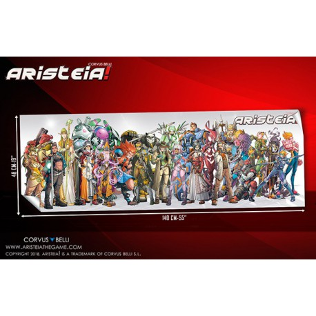 Aristeia! Poster 2018 Limited Edition