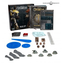 Adeptus Titanicus: Rules Set (Inglés)
