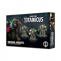 Adeptus Titanicus: Imperial Questoris Knights (3)