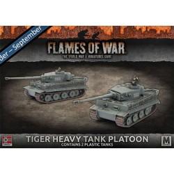 Tiger Heavy Tank Platoon (2) Plastic