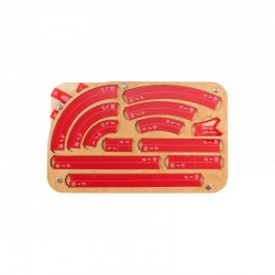 Space Fighter Manouver Tray 2.0 - Red