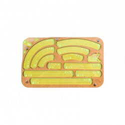 Space Fighter Manouver Tray 2.0 - Green