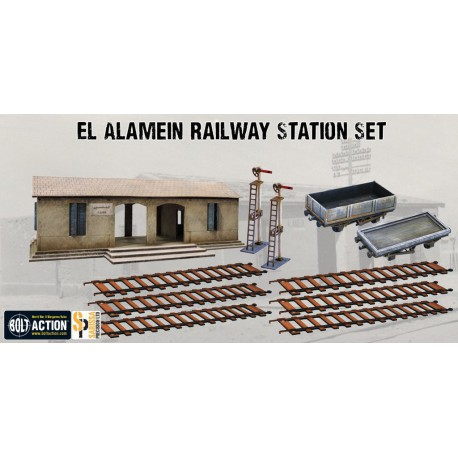 El Alamein Railway Station Set