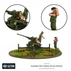 Australian 40mm Bofors AA Gun