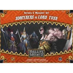 Massive Darkness - Taumaturgos vs. Lord Colmillo (Spanish)