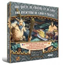 Massive Darkness - Una Aventura de Lava y Cristal (Spanish)