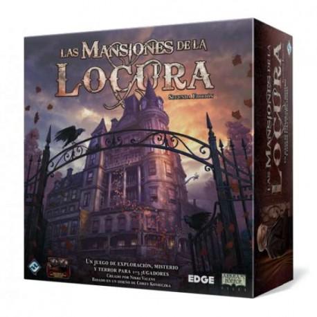 Las Mansiones de la Locura Segunda Edición (Spanish)
