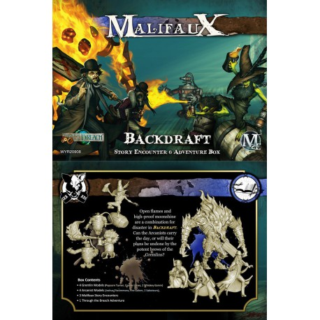 Backdraft Story Encounter and Adventure Box