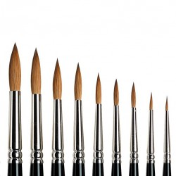 Series 7 Kolinsky Sable Brush - Round Nº 000