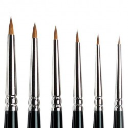 Series 7 Kolinsky Sable Brush - MINI - Round Nº 000