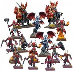 Kings of War Vanguard: Abyssal Faction Starter (Spanish)