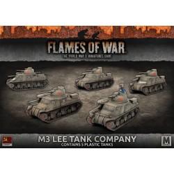 M3 Lee Tank Company (x5 Plastic)