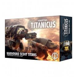 Adeptus Titanicus Warhound Scout Titans (2)