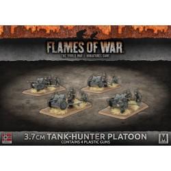 3.7cm Tank Hunter Platoon (4) Plastic