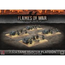 7.5cm Tank Hunter Platoon (4) Plastic