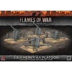 8.8cm Heavy AA Platoon (4) Plastic