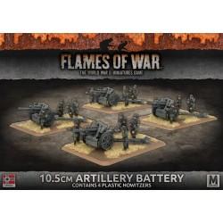 10.5cm Artillery Battery (x4 Plastic)