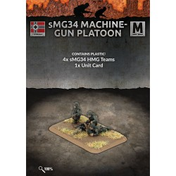 MG34 Machine-gun Platoon (4 teams) Plastic