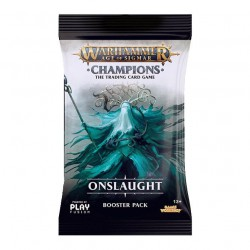 Warhammer Champions: Wave 2: Onslaught Sobre (1) (English)