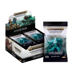Warhammer Champions: Wave 2: Onslaught Expositor de Sobres (24) (Inglés)