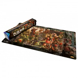 Warhammer Champions: Play-mat Chaos Vs. Destruction 64 X 35 Cm