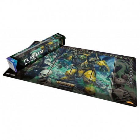 Warhammer Champions: Play-mat Destruction Vs. Death 64 X 35 Cm