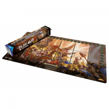 Warhammer Champions: Play-mat Chaos Vs. Order 64 X 35 Cm