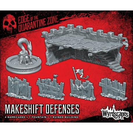 Wyrdscapes Makeshift Defenses Scatter Terrain
