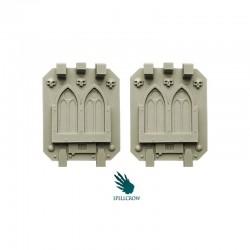 Gothic Doors for Heavy Vehicles