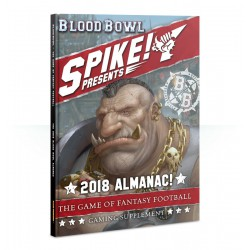 Blood Bowl: Spike! 2018 Almanac! (Inglés)