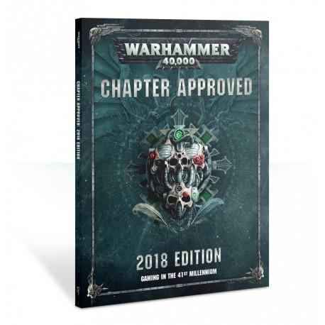 Warhammer 40000: Aprobado por El Capítulo 2018 (Castellano)