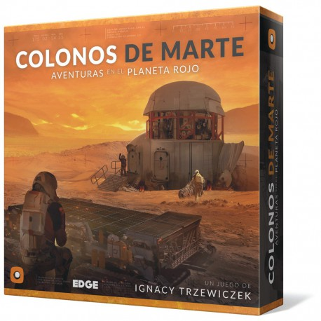 Colonos de Marte (Spanish)