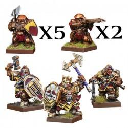 Dwarf Warband Set (Castellano)