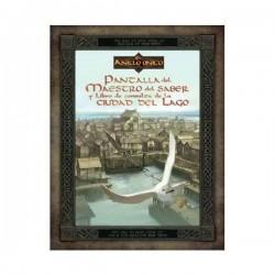 El Anillo Único - Pantalla del Maestro del Saber y Libro de Consulta de la Ciudad