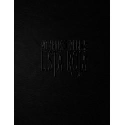 Nombres Temibles, Lista Roja Deluxe (Spanish)