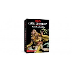 Magia arcana - Cartas de Conjuro (Spanish)