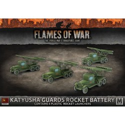 Katyusha Guards Rocket Battery (4) Plastic