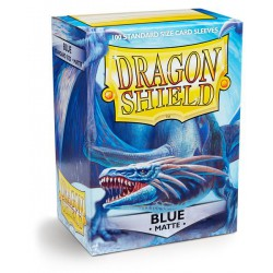 Dragon Shield Sleeves: Blue Matte (100)