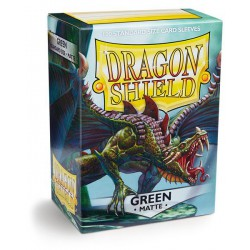 Dragon Shield Sleeves: Green Matte (100)