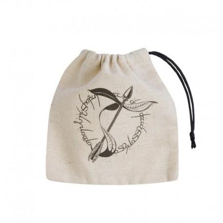 Dice Bag Elvish Beige & Black Basic