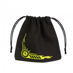 Dice Bag Galactic Black & Yellow