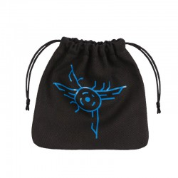 Dice Bag Galactic Black & Blue