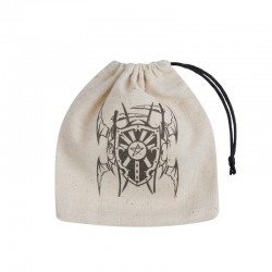 Dice Bag Vampire Beige & Black Basic
