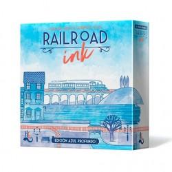 Railroad Ink: Edición Azul Profundo (Spanish)