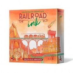 Railroad Ink: Edición Rojo Abrasador (Spanish)