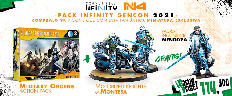 Pre-Order GenCon Infinity